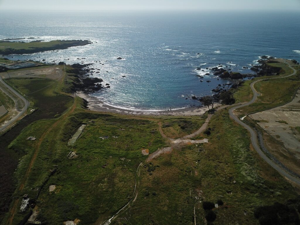 Fort Bragg Headlands, old Mill site